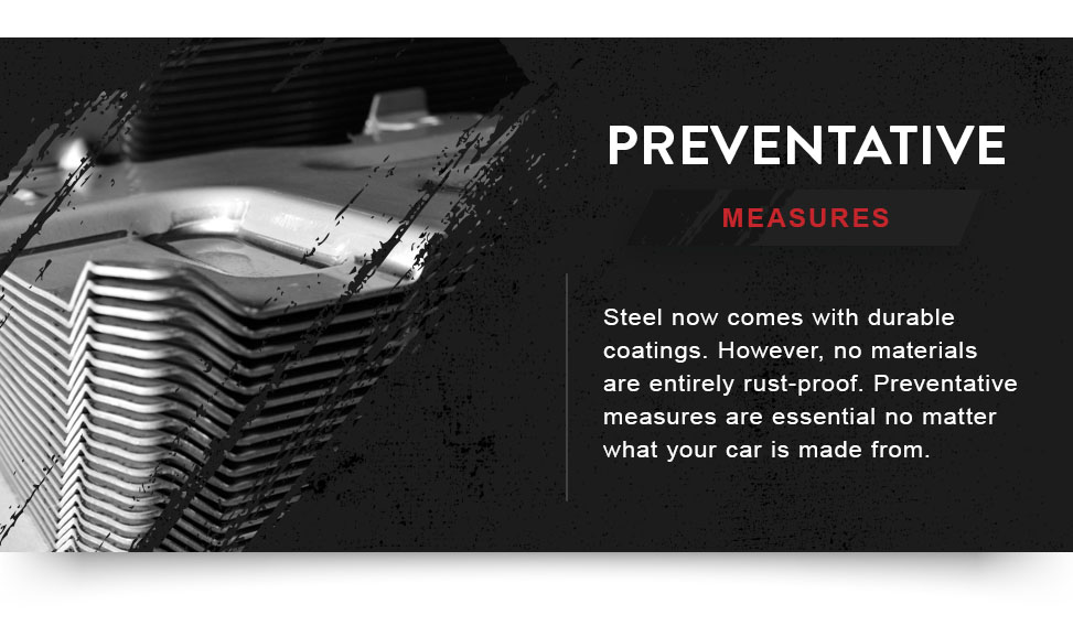 preventing corrosion and rust