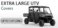 UTV Covers Up To 170 Inches Long