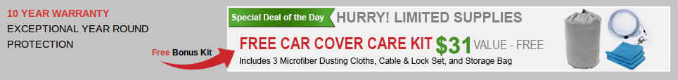 Free Car Cover Care Kit