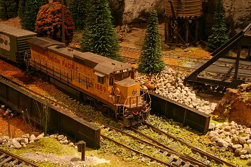 US model railroad 04
