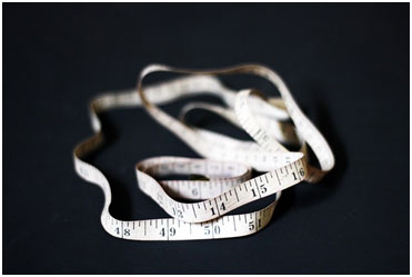 Custom fit measuring tape