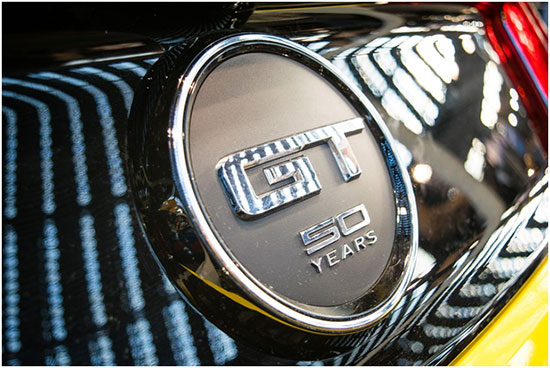 What is the meaning of GT in Mustang GT?