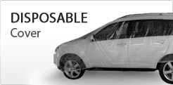 Disposable Plastic Car Covers