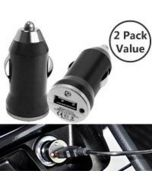 [2 Pack] USB Car Charger