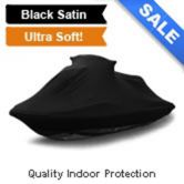 Indoor Black Satin Shield Jetski Cover
