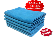 Microfiber Cloth 36-Pack