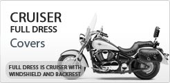 Full Dress Cruiser Motorcycle Covers