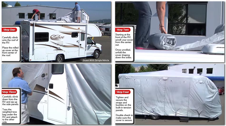 How To Install Deluxe Shield RV Cover