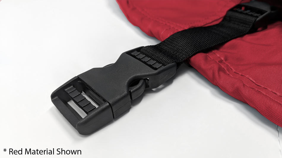 red personal watercraft cover strap trailerable