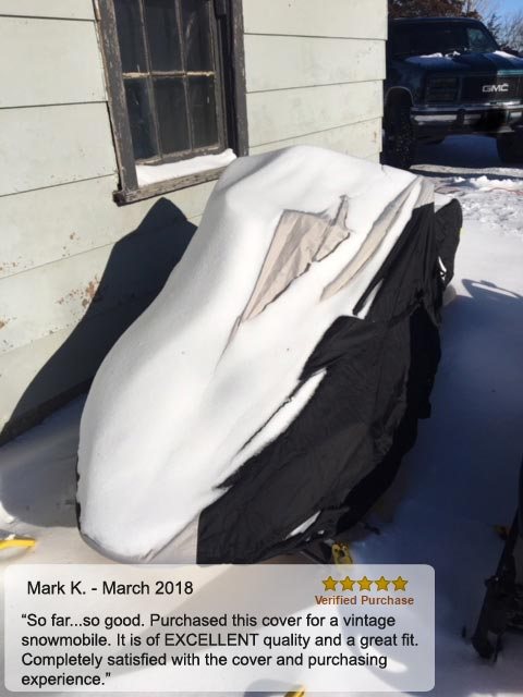 Weatherproof Shield snow mobile Cover