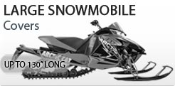 Small Snowmobile Cover Up To 130 Inches Long