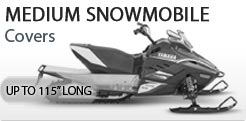 Small Snowmobile Cover Up To 115 Inches Long