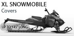 Small Snowmobile Cover Up To 145 Inches Long