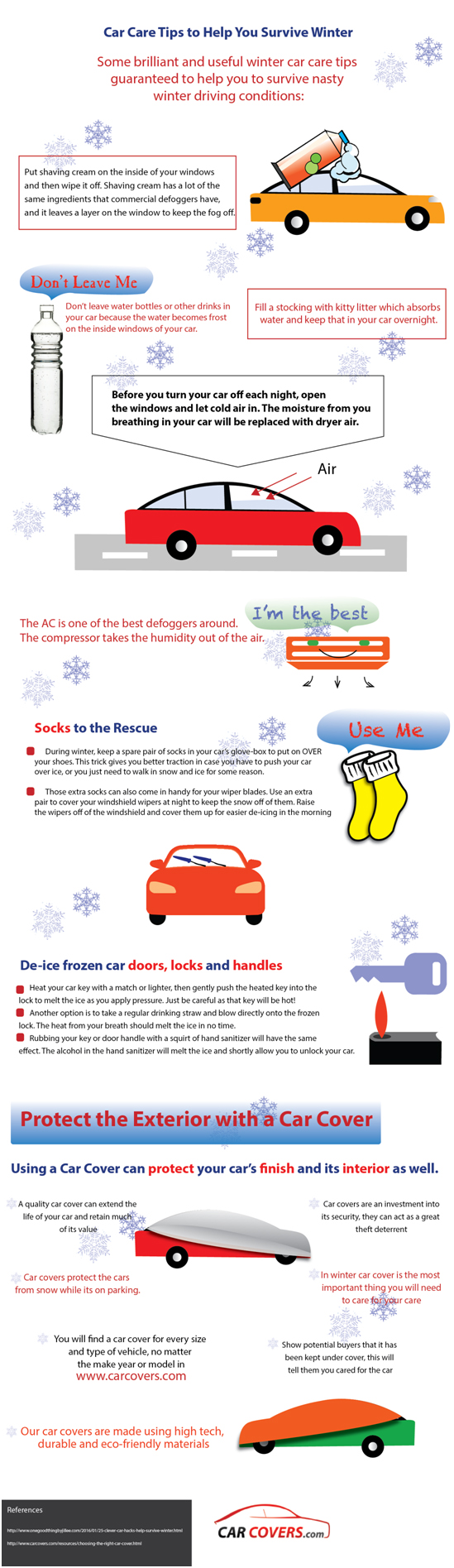 11 Clever Car Hacks to Survive Winter